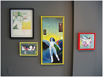 Paintings in frames